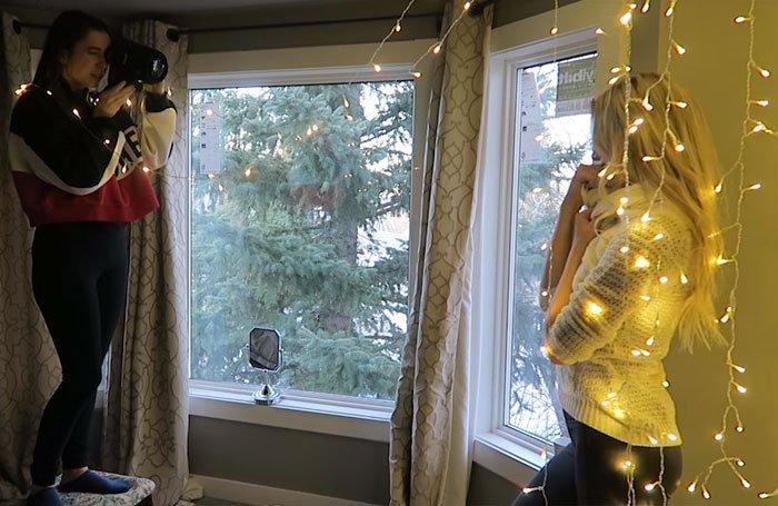 фотограф рождество праздник атмосфера
