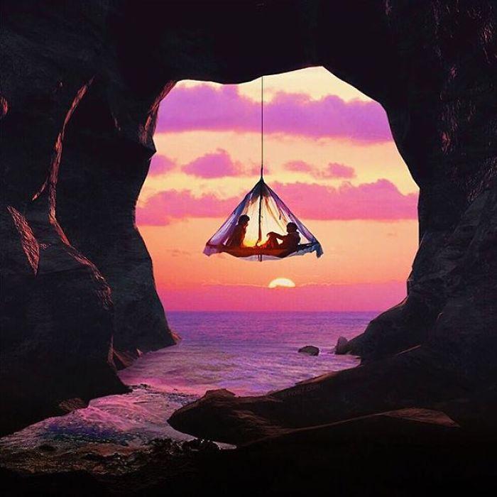кемпинг instagram палатки обман