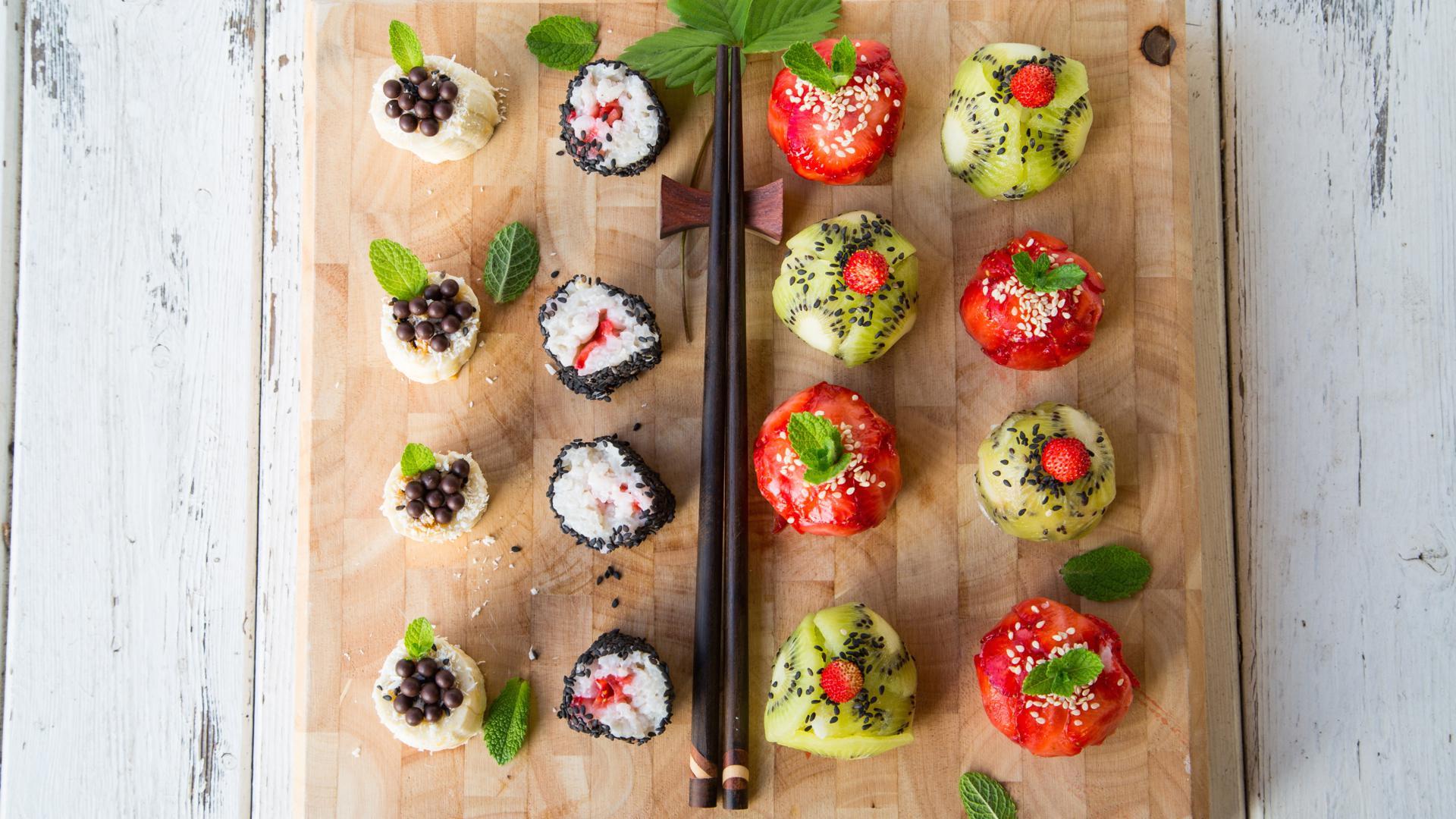 Рецепты фруктовых роллов в домашних условиях пошагово