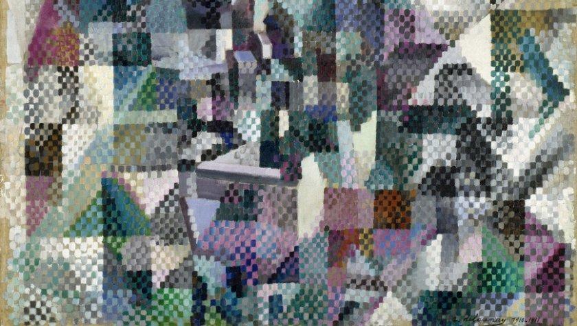 Робер Делоне. Окно в город №3, 1911-12