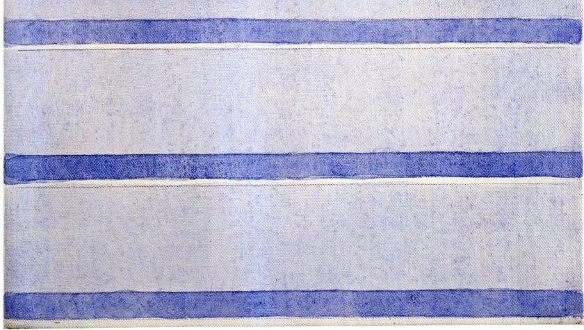 Агнес Мартин. Без названия, 2001