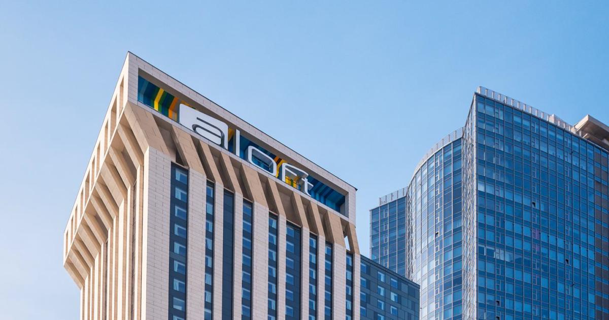 7694b676 В Киеве открывается инновационный отель Aloft Kiev от сети Marriott  International