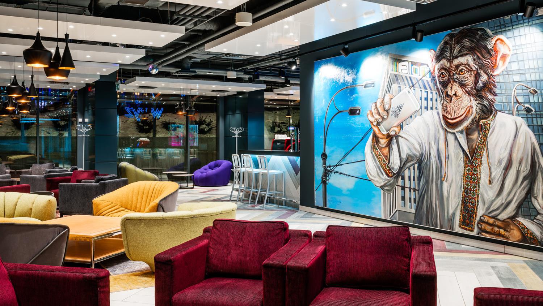291d7770 В Киеве открывается инновационный отель Aloft Kiev от сети Marriott ...