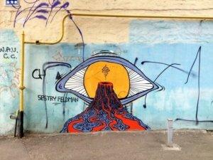 «Зачем делать некрасиво в своем доме?» Уличные художницы Николь и Мишель Фельдман