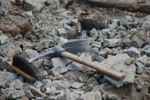 В центре столицы начали археологические раскопки