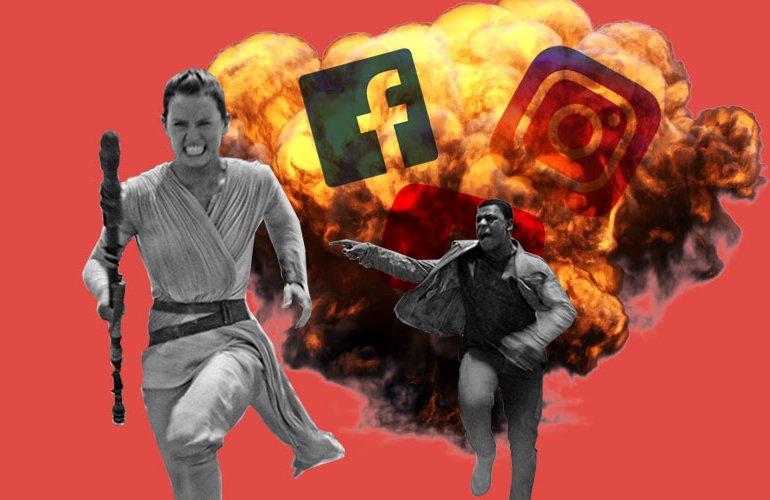 Соцсети, Facebook, Twitter, Instagram
